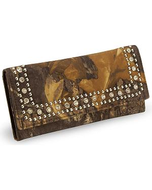 Nocona Mossy Oak Break Up Camouflage Print Wallet
