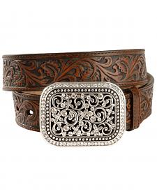 Ariat Floral Leather Belt