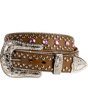 Blazin Roxx Pink Bling Belt
