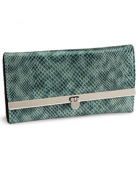 Way West Laredo Snake Print Wallet