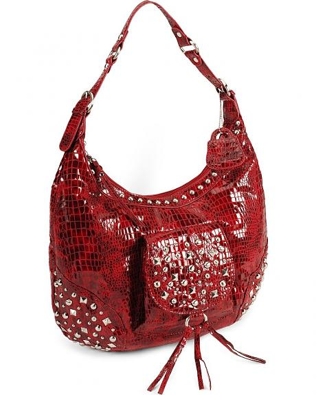 Lou-ella Starlight Scoop Hobo Bag