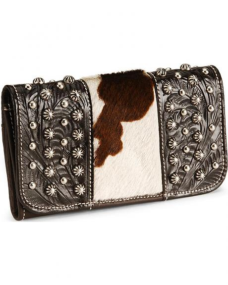American West Santa Fe Spirit Leather Wallet