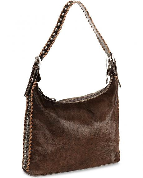 American West Santa Fe Spirit Brown Slouch Hobo Bag