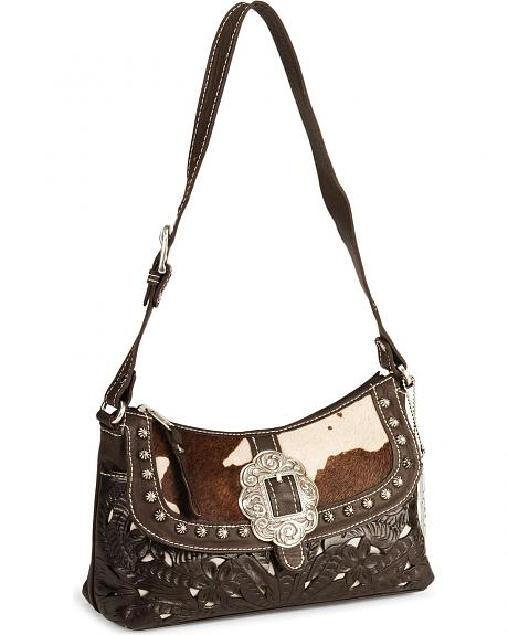 American West Prairie Rose Shoulder Handbag
