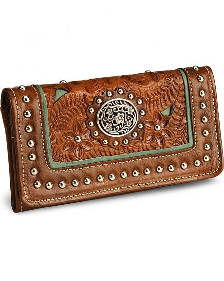 American West Lady Lace Wallet