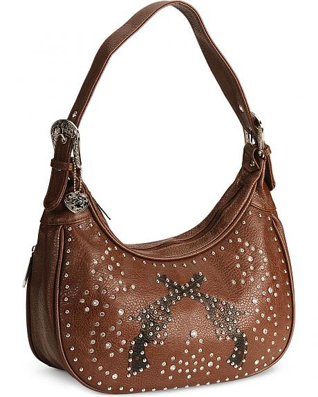 Bandera Brown Pistol Shoulder Handbag