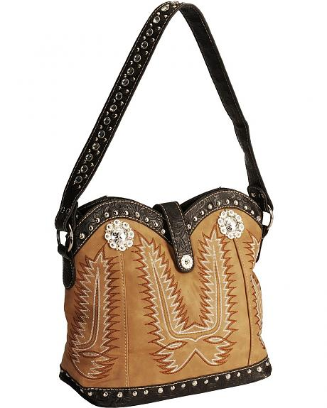 Savana  Boot Stitch Handbag