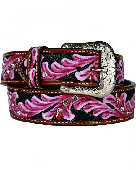 Ariat Berry Tooled Leather Belt