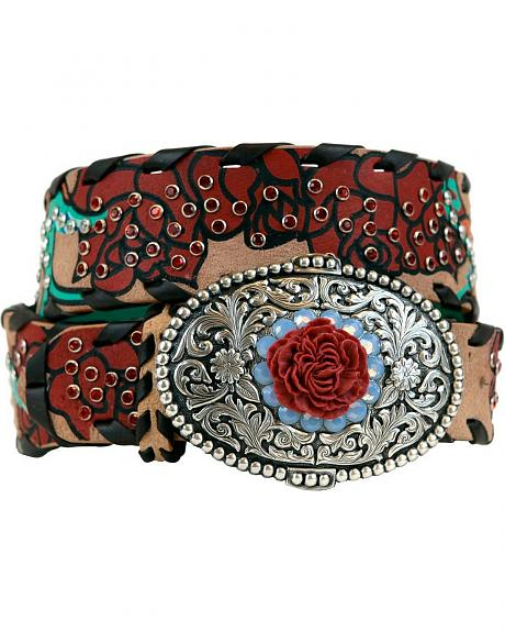 Ariat Rosita Painted Leather Belt