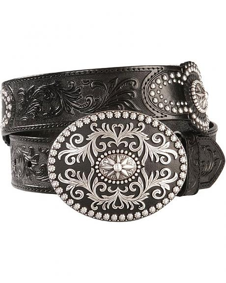 Justin Amarillo Star Western Belt