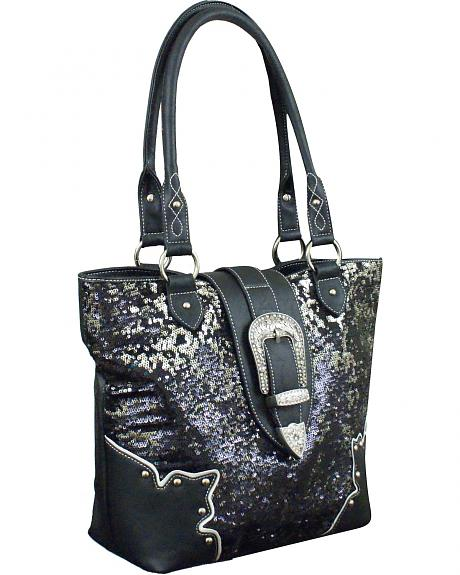 Cowgirl Up Amanda Tote Bag