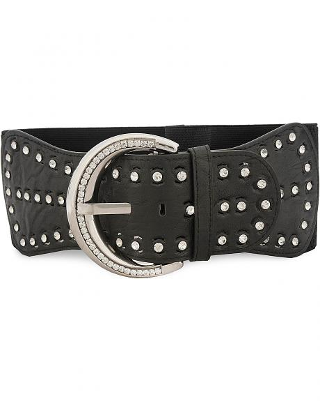 Angel Ranch Bling Elastic Fashion Belt