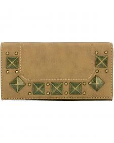 Bandana by American West Houston Honey-Wheat Flap Wallet