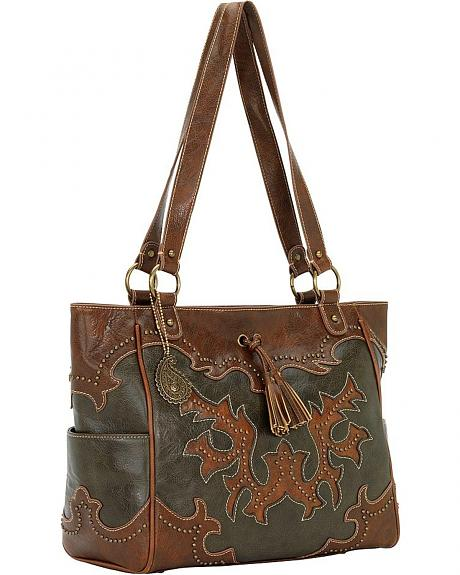 Bandana by American West Nashville Zip Top Tote