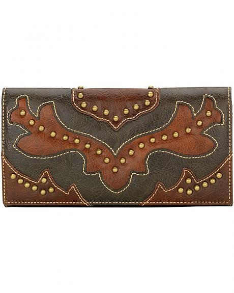 American West Bandana Nashville Flap Wallet