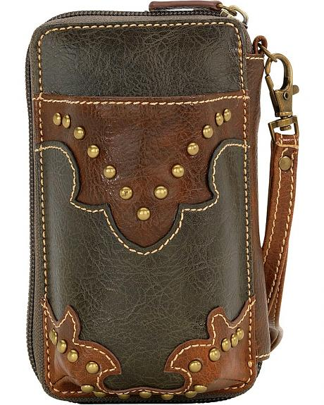 American West Bandana Nashville Wallet/Cell Phone Case Combo