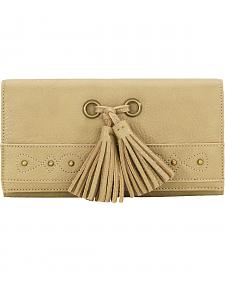 Bandana by American West San Raphael Tan Flap Wallet