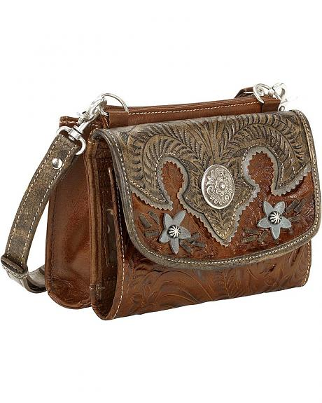 American West Desert Wildflower Crossbody Bag