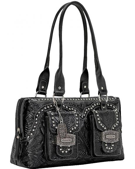 American West Shadow Ridge Zip Around Tote