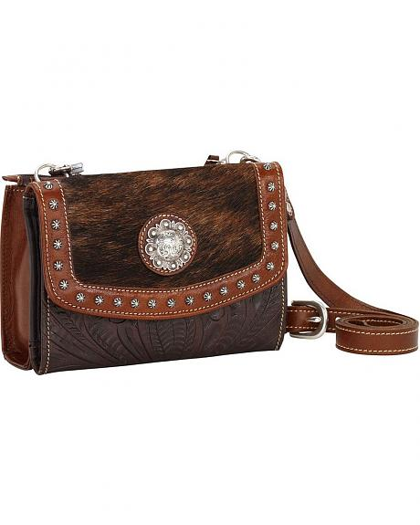 American West Triple C Collection Small Crossbody Bag