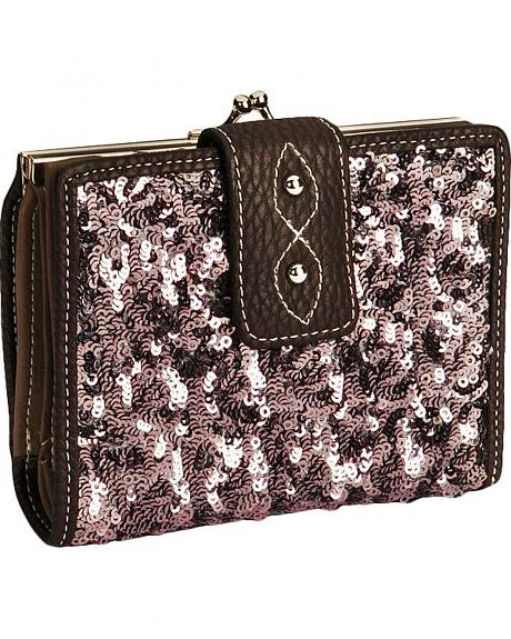 Cowgirl Up Hayley Sequined Wallet