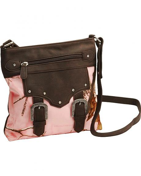 Realtree Pink Crossbody Bag