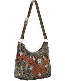 American West Desert Wildflower Hobo Bag