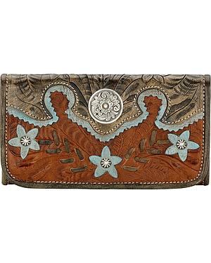 AW Desert Wildflower Tri-Fold Wallet