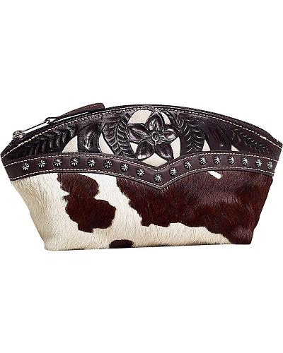 American West Prairie Rose Leather Accessory Case Western & Country PONY394