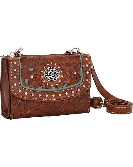 American West Lady Lace Crossbody Bag