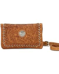 AW Harvest Moon Foldover Clutch at Sheplers