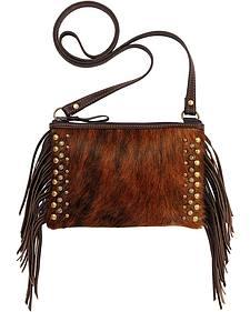American West Chaps Fringed Crossbody Bag