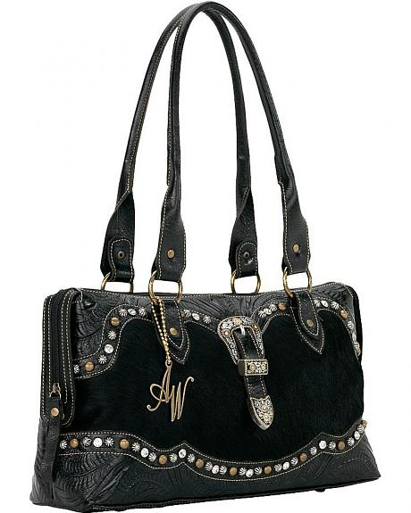 American West Midnight Horizon East West Zip Around Tote