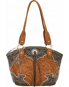 American West Heart of Gold Bucket Tote