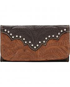 American West Annie's Secret Tri-Fold Wallet
