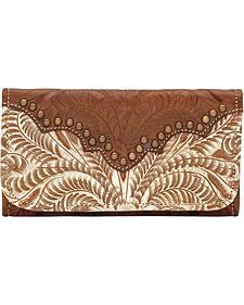 American West Annie's Secret Tri-fold Wallet