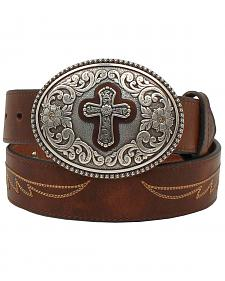 Ariat Cross Buckle Western Belt