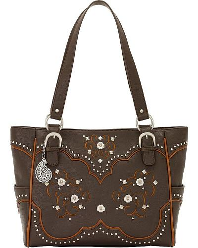 American West Bandana Savannah Carry-All Tote Western & Country B265507