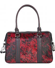 Scully Red Calf Hair Tote