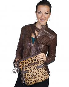 Scully Cheetah Print Shoulder Bag