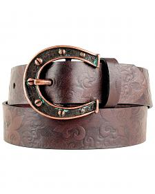 Ariat Charmed Horseshoe Buckle Belt