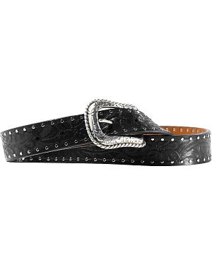 Ariat Western Embossed Black Belt