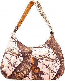 Nocona Pink Mossy Oak Shoulder Bag