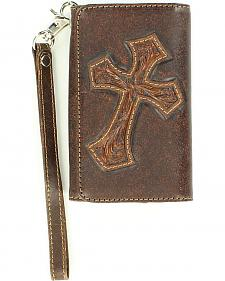 Blazin Roxx Diagonal Cross Wallet & iPhone 4 Case