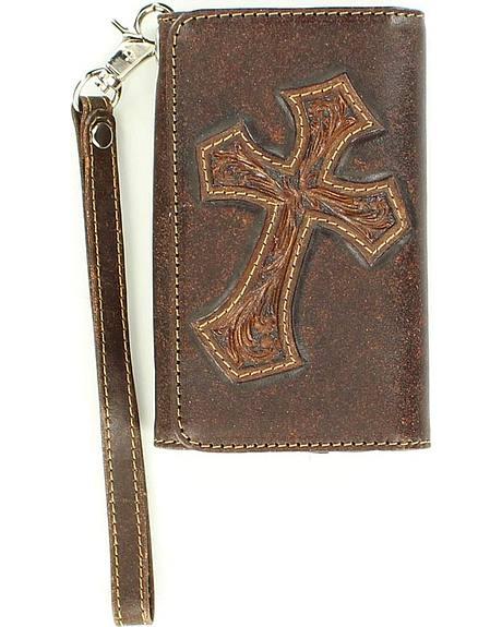 Blazin Roxx Diagonal Cross Wallet & iPhone 4 Case