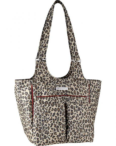 Ariat Mini Carry All Cheetah Print Poly Canvas Tote Bag