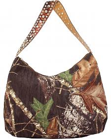 Blazin Roxx Mossy Oak Embellished Shoulder Bag