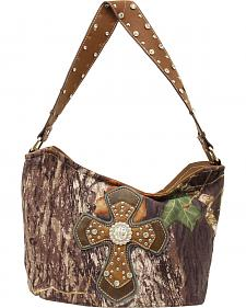 Blazin Roxx Mossy Oak Cross Overaly Bucket Bag