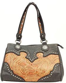 Blazin Roxx Tooled Shoulder Bag