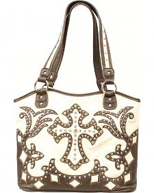 Blazin Roxx Boot Top Fancy Cross Shoulder Bag